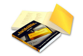 paperback book printing with flapped covers