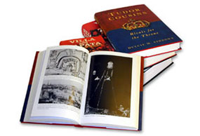Book printing with photographic plate sections